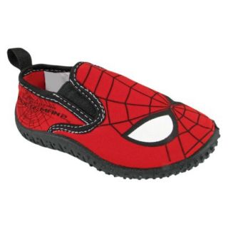 Toddler Boys Spiderman Water Shoes   Black 8