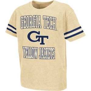Georgia Tech Yellow Jackets Colosseum NCAA Kids Bullet T Shirt