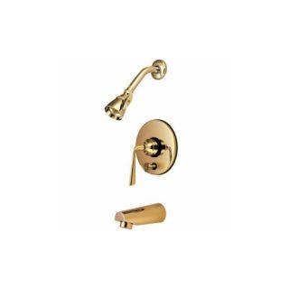 Elements of Design EB86920ZL Syracuse Single Handle Tub & Shower Faucet