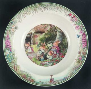 Villeroy & Boch Foxwood Tales Rim Cereal Bowl, Fine China Dinnerware   Boutique
