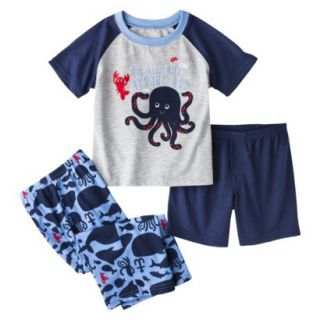 Just One You Made by Carters Infant Toddler Boys 3 Piece Octopus Pajama Set
