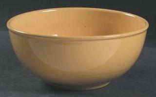 Nancy Calhoun Solid Color Honey 8 Salad Serving Bowl, Fine China Dinnerware   A