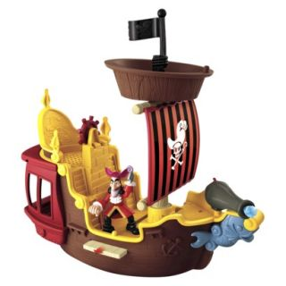 Disney Jake and The Never Land Pirates Hooks Jolly Roger Pirate Ship