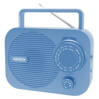 Jensen AM/FM Portable Radio   Blue (MR 550 BL)