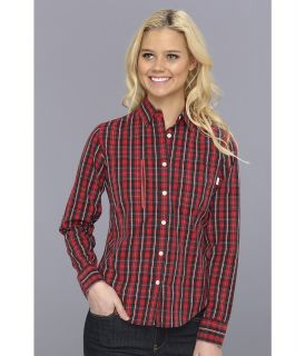 Burton Eva Woven Womens Long Sleeve Button Up (Burgundy)