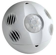 Leviton OSC10M0W Motion Sensor, MultiTech Ceiling Mounted Occupancy Sensor, 1000 Sq. Feet Coverage White