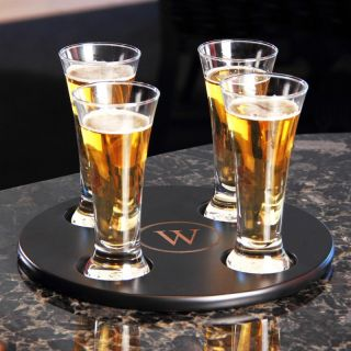 Cathys Concepts Inc Cathys Concepts Personalized Round Beer Flight Sampler