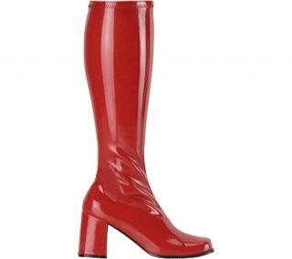 Womens Funtasma Gogo 300   Red Stretch Patent Boots