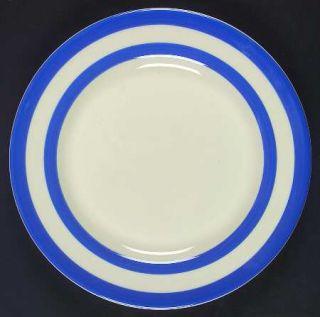 TG Green (England) Cornish Blue Cream (Cloverleaf&Tg Green) Luncheon Plate, Fine