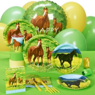 Wild Horses Party Pack for 8 Guests