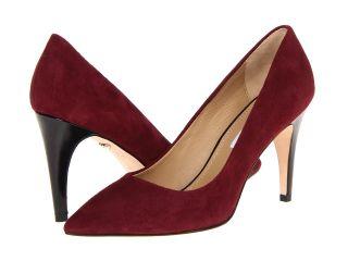 Diane Von Furstenberg Anette High Heels (Burgundy)