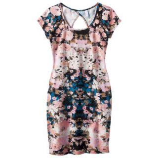 Xhilaration Juniors Body Con Dress   Pink S