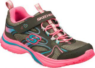 Infant/Toddler Girls Skechers Lite Kicks Sprinterz   Gray/Multi Sneakers
