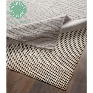 Martha Stewart Non slip Hard Floor Rubber Rug Pad (4 X 6)
