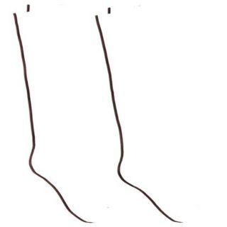 Merona Knee High Rayon Socks   Brown One Size Fits Most