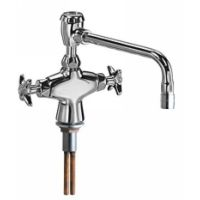 Chicago Faucets 931 VBE3 2CP Universal Combination Hot and Cold Water Fitting