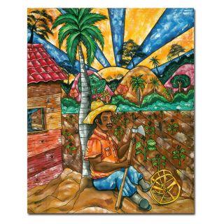 Trademark Global Inc Descando Mutatino Wall Art by Duran Multicolor   MA123
