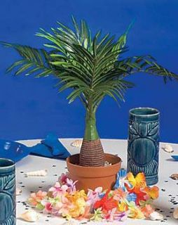 Potted Palm Tree Centerpiece