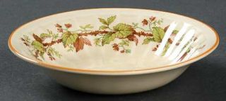 Crown Ducal 3566 Fruit/Dessert (Sauce) Bowl, Fine China Dinnerware   Early Engli