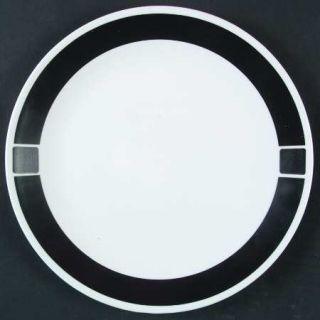 Corning Urban Black Dinner Plate, Fine China Dinnerware   Corelle,Black Band & S