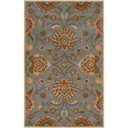 Hand tufted Wool Blue Auld Rug (8 X 11)