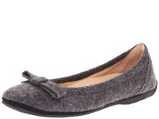 Haflinger Daisy Womens Flat Shoes (Gray)