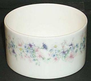 Wedgwood Angela Mini Open Sugar Bowl, Fine China Dinnerware   Pastel Flowers, Sm
