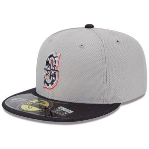 Seattle Mariners New Era MLB 2013 July 4th Stars & Stripes 59FIFTY Cap