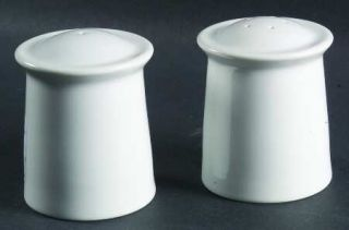 ... Dansk Cafe Blanc Salt u0026 Pepper Set Fine China Dinnerware White Rim Smooth ... & Dansk Cafe Blanc Plate Set of 4 Dinner Plates