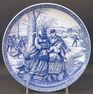 Spode Victorian Annual Christmas  1996 Annual Christmas Plate, Fine China Dinner