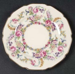 Rosenthal   Continental Linnie Lee Salad Plate, Fine China Dinnerware   Ivory,Fl