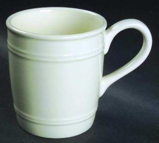 American Living General Store Cream Mug, Fine China Dinnerware   All Cream,Embos
