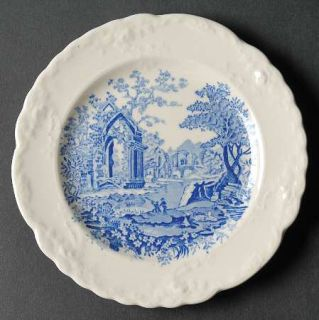 Taylor, Smith & T (TS&T) English Abbey Blue Bread & Butter Plate, Fine China Din
