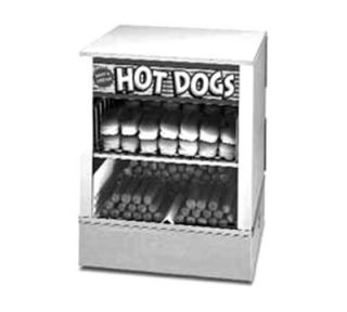 APW Wyott Hot Dog Steamer, Self Service, Bun Steamer/Warmer
