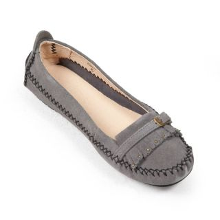 Womens Emily Peace Moccasins by Old Friend Black   PM447120 BLACK 6.5, 6.5