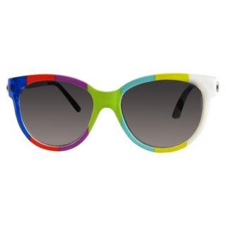 Striped Surf Sunglasses   Smoke