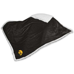 Iowa Hawkeyes Logo Chair Sherpa Blanket