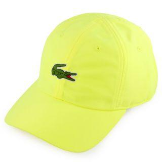 Lacoste Men`s Poly Croc Tennis Cap Yellow  Yellow