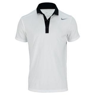 Nike Men`s Baseline Tennis Polo Medium 100_White