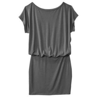 Mossimo Supply Co. Juniors Boxy Top Body Con Dress   Flat Gray M(7 9)