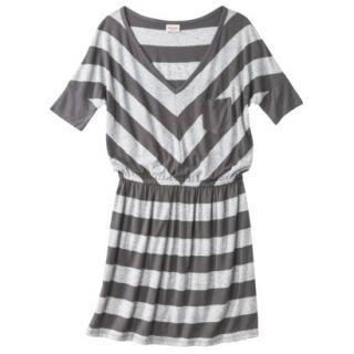 Mossimo Supply Co. Juniors V Neck Dress   Flat Gray S(3 5)
