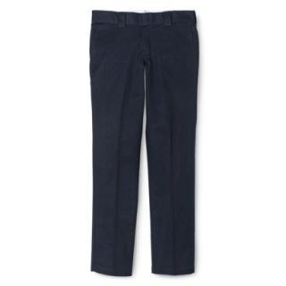 Dickies Mens Slim Fit Tapered Leg Work Pants   Navy 34X34