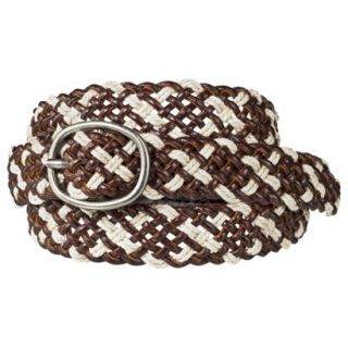 Mossimo Supply Co. Weave Belt   Brown S
