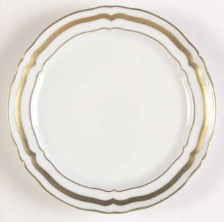 Raynaud Marie Antoinette Gold Bread & Butter Plate, Fine China Dinnerware   Gold