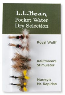 Six Pack Fly Selection, Pocket Water Dry Flies
