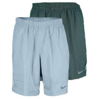 Nike Men`s Power 9 Inch Woven Tennis Short Xsmall 332_Vintage_Green