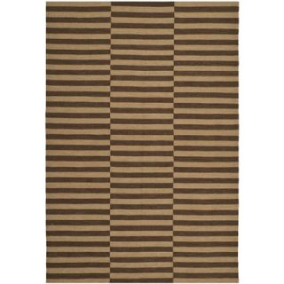 Ralph Lauren Home River Reed Stripe Timber Rug RLR2221C Rug Size 4 x 6