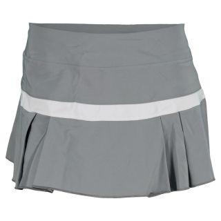 Nike Women`s Woven Pleated Tennis Skirt Xlarge 065_Gray