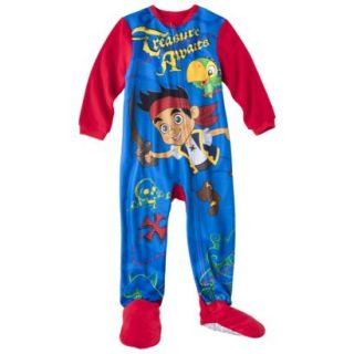 Disney Jake and the Neverland Pirates Toddler Boys Footed Blanket Sleeper