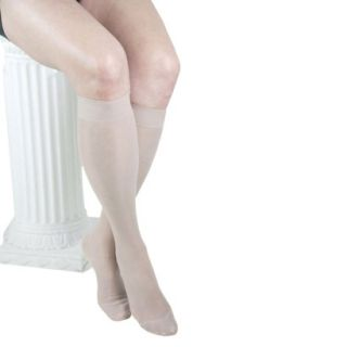 GABRIALLA Knee Highs   Medium Compression (18  20 mmHg)   Nude M